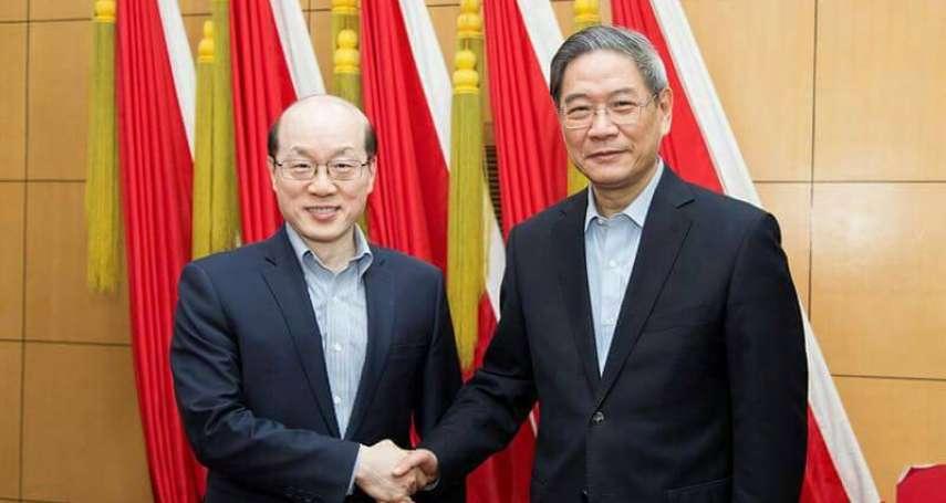 張志軍卸任 劉結一接國台辦主任:堅持和平統一、一國兩制