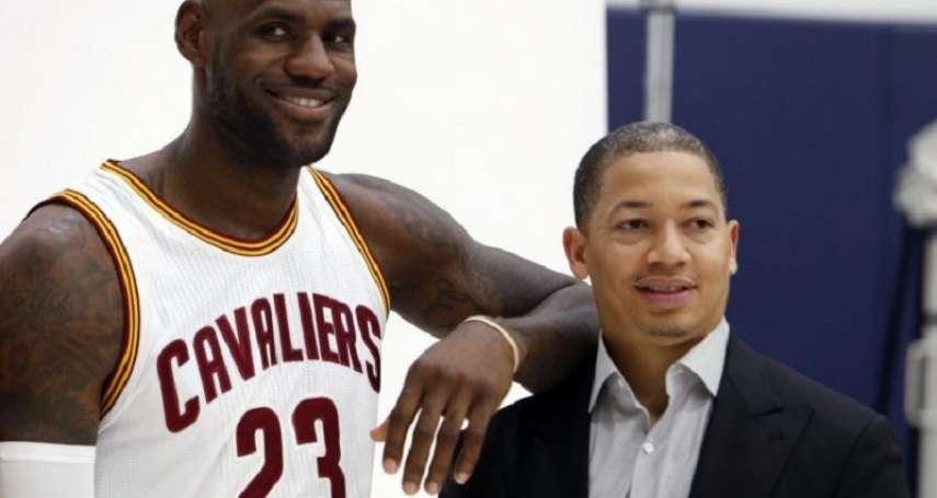 NBA》至今難忘騎士執教經歷 泰隆魯:我曾認為自己找到了「家」