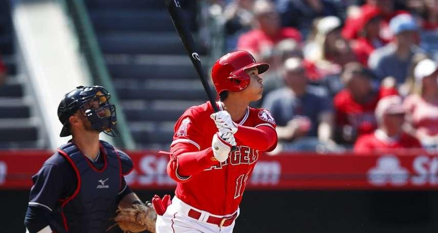 MLB》大谷翔平連兩場開轟 狙擊塞揚投手