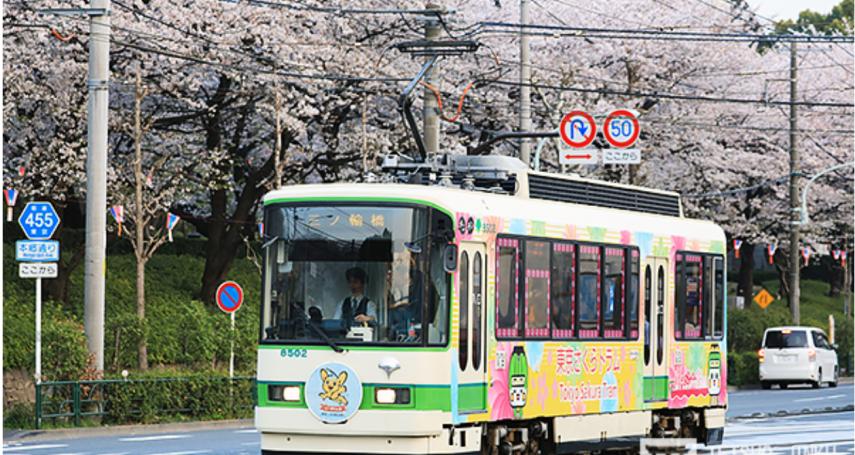 搭著電車就能串起多個賞櫻勝地,成為觀光客最愛!從「荒川線」看東京都電車興衰史
