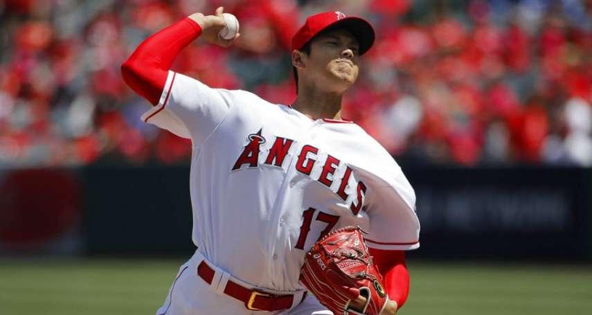 MLB》大谷翔平7局12K 完全比賽7局上破功