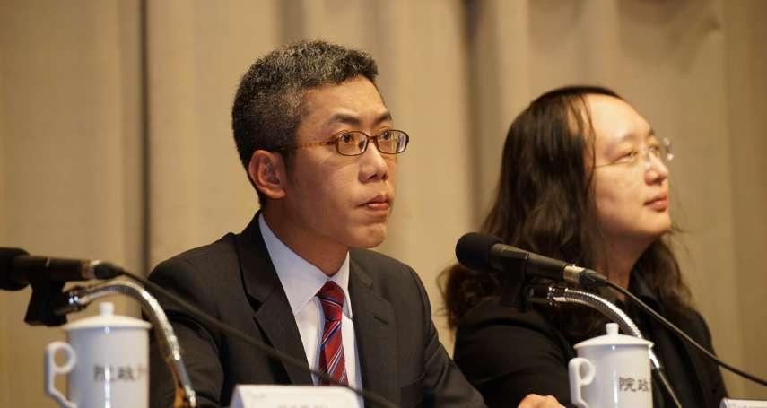丁允恭遭爆劈腿火速辭府發言人 藍委:不給陳菊當監察院長就是怕這樣