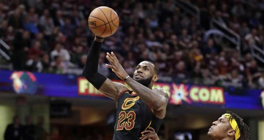 NBA季後賽》詹皇又「開無雙」? 首節20分超越溜馬全隊