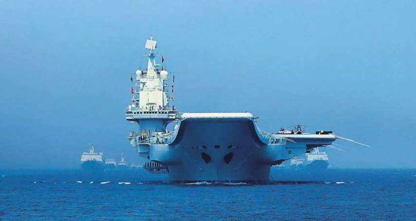 遼寧艦現身沖繩近海!自衛隊全程監視,防衛省稱「未侵入日本領海」