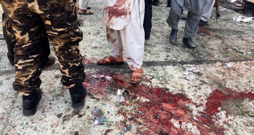 選民登記站化為人間煉獄,「伊斯蘭國」自殺炸彈客阿富汗奪57命