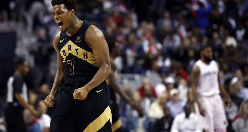 NBA季後賽》暴龍替補末節砍17分 洛瑞:板凳是贏球關鍵