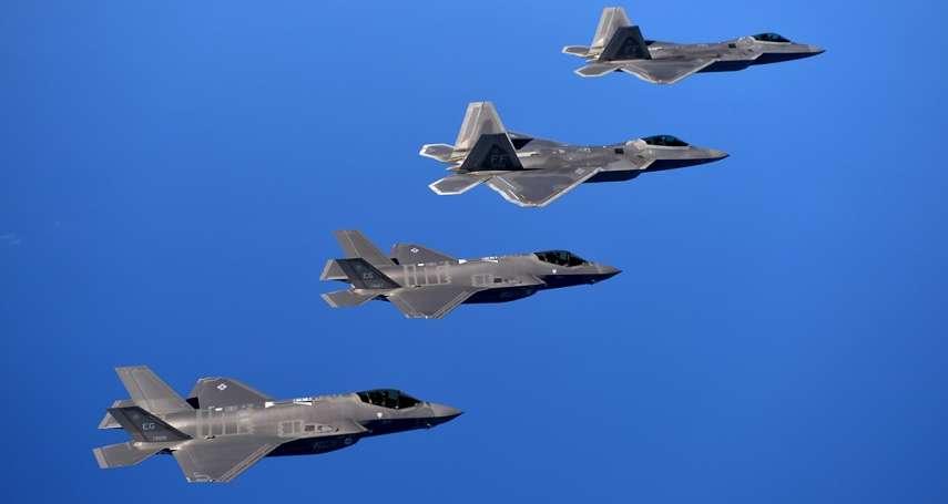 日本下一代主力戰機是誰?《日經》:美軍火商將開發F-22與F-35的混合型戰機