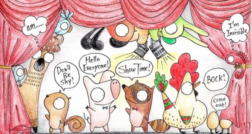 【看插畫學英語】「你好,我是胖鼠!」最可愛動物插畫陪你開心學英語