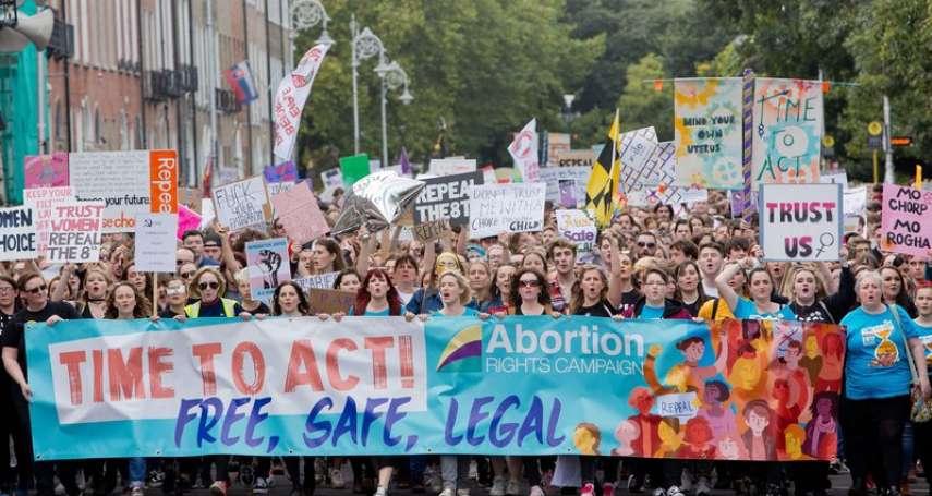 挑戰先進國家最嚴苛墮胎禁令》8成國民都是天主教徒,愛爾蘭墮胎公投5月25日登場