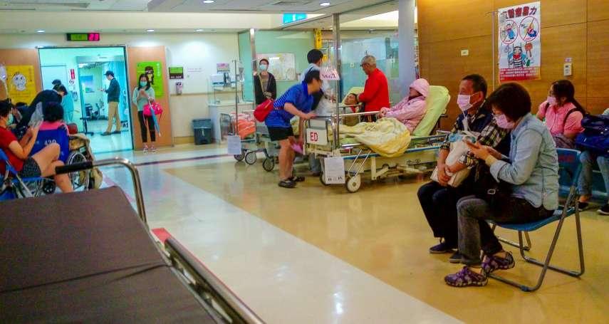 嘉義某醫院驚傳命案 男疑遭同房患者痛毆身亡