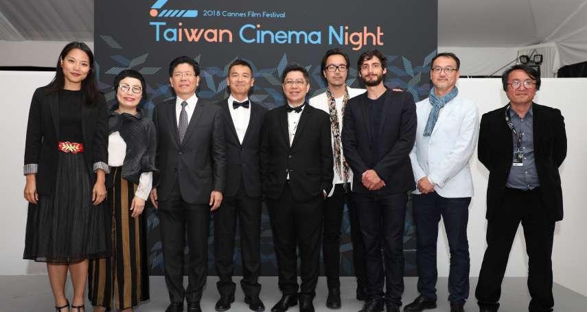 「期待能在台灣拍片!」坎城台灣之夜盛大登場 國際合製影片表現亮眼