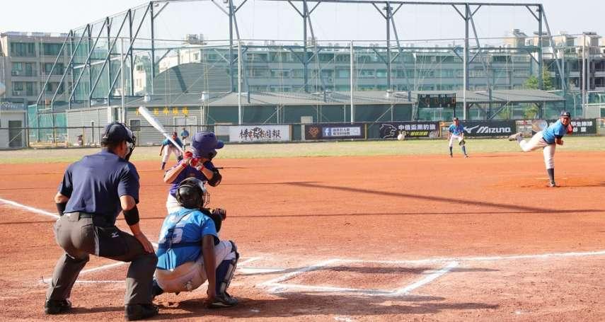 國小棒球硬式組聯賽冠亞軍台南開打