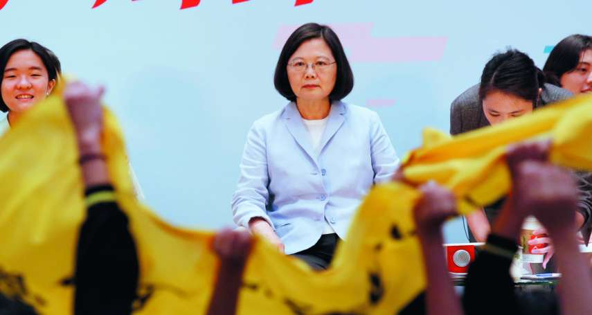 陳東豪專欄:小英的「非核家園」 民意快守不住了