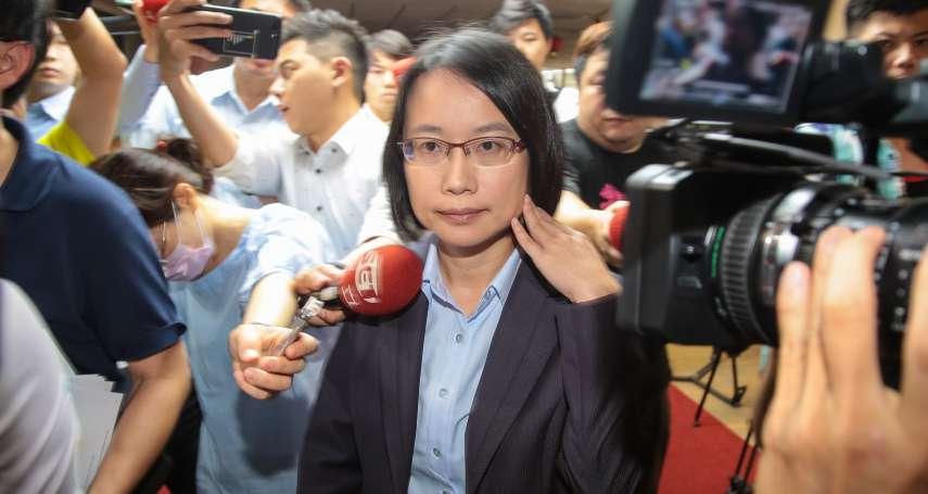 周二中午找吳音寧 蔡壁如:希望她在議會備詢時打起精神