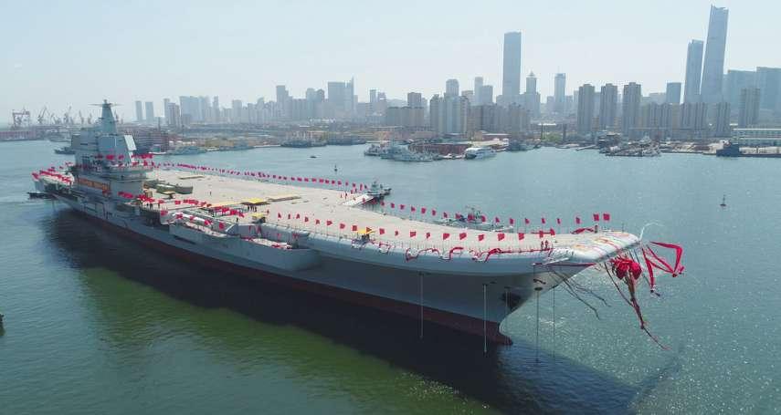 中國航母駛進台灣海峽 蔡英文籲北京:維持兩岸和平是共同責任