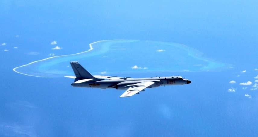 解放軍轟炸機首度降落南海島礁!轟-6K戰機示威,未來恐威脅關島、澳洲