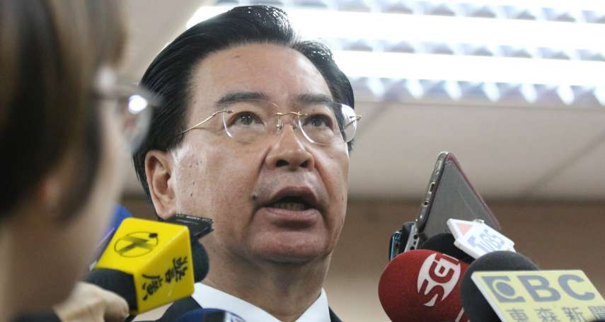 台灣參與WHA》3友邦未提案疑遭中國施壓 外交部:友邦支持方式不一樣,但都力挺我國