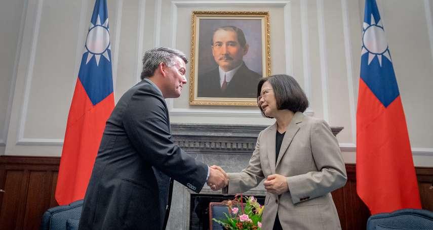 美國重量級參議員提《台北法案》維繫台灣全球邦交「防止相關國家做出不利台灣的行動」!