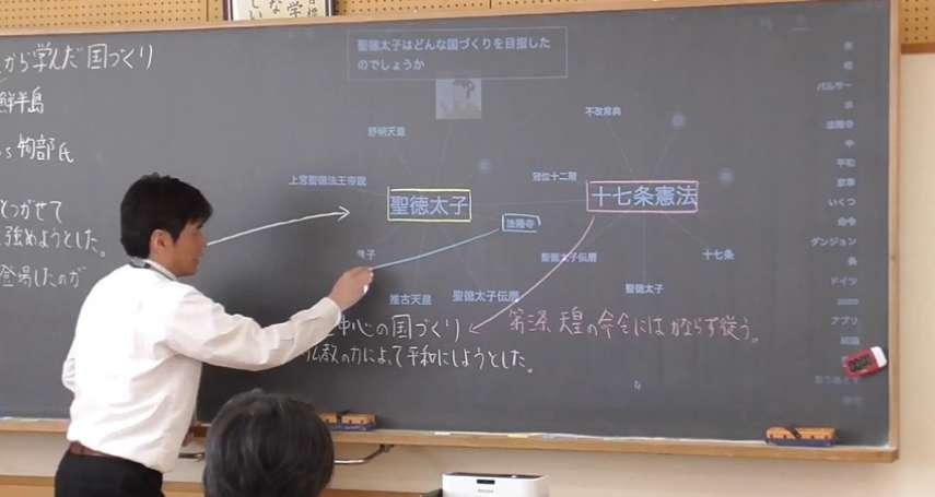 有片》以後看不到老師寫板書了?日本發明「自動投影黑板」,老師一講課馬上生出關鍵字