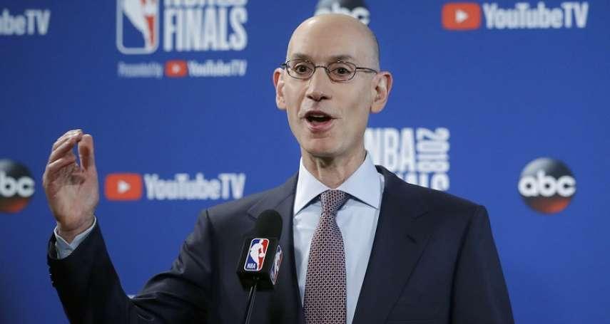NBA》武漢肺炎衝擊,NBA高層恐減薪2成,總裁席佛損失近6千萬台幣!