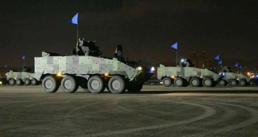 漢光演習反空降演練 雲豹甲車捍衛松山機場