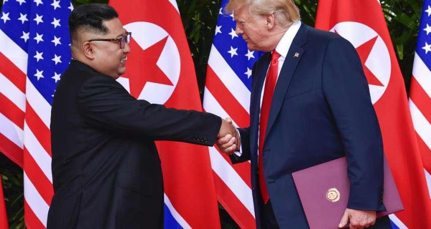「美國總統川普與朝鮮民主主義人民共和國主席金正恩新加坡峰會聯合聲明」中英對照全文