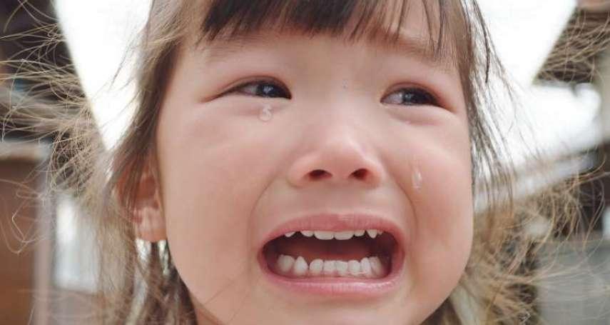 孩子出門「hen歡」怎麼辦?專家教好爸媽,幼兒哭鬧常見4狀況見招拆招