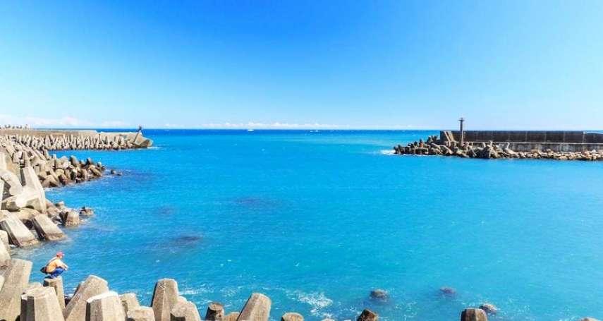 這片湛藍讓人好想移居宜蘭!7處海景景點天海連一線,看藍天聽海浪,內心煩惱全消