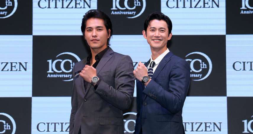 兩大巨星吳慷仁 藍正龍,一同為CITIZEN展演最新光動能GPS衛星對時錶款