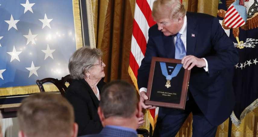 隻身抵擋數百德軍與六輛坦克攻勢!川普追授已故二戰老兵美軍最高英雄獎章