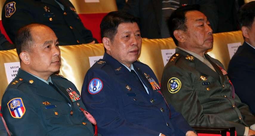 「軍常服繡團體臂章」本月中畫下句點 國防部:人員異動還要更換,決定取消