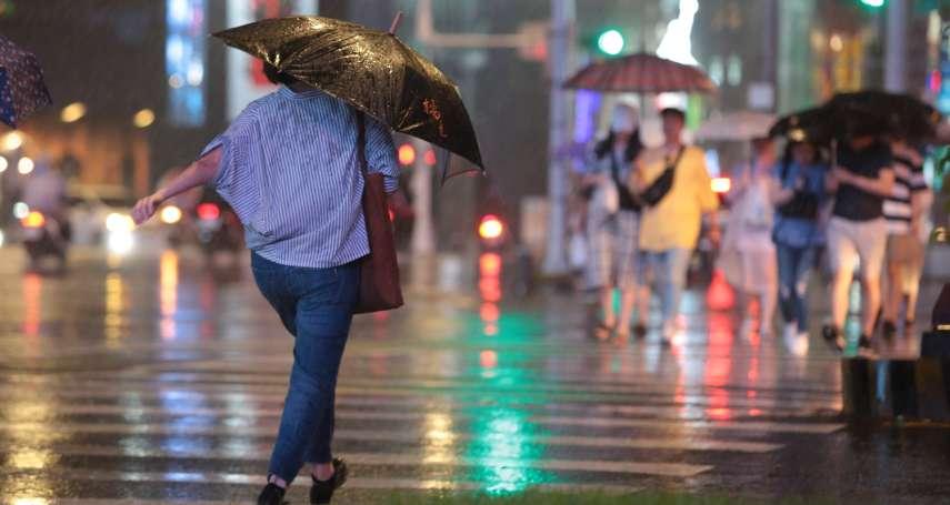 米塔「越夜越有感」!彭啟明:颱風中心相當接近北台灣,應提高警覺注意風雨