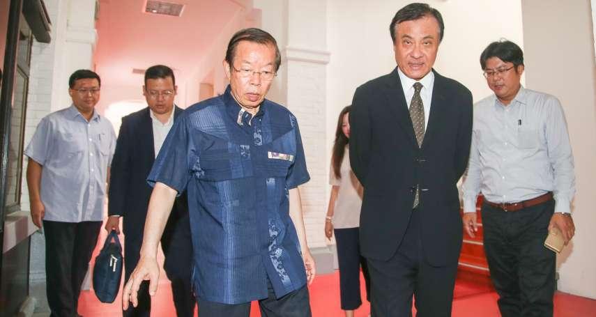 「安倍賀電當然是真的」!謝長廷:最著急的應該是中國
