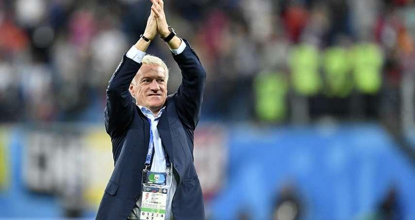 沒踢進過幾球,曾被隊友諷為「挑水的」為何總教練德尚能成為法國足球隊靈魂人物?