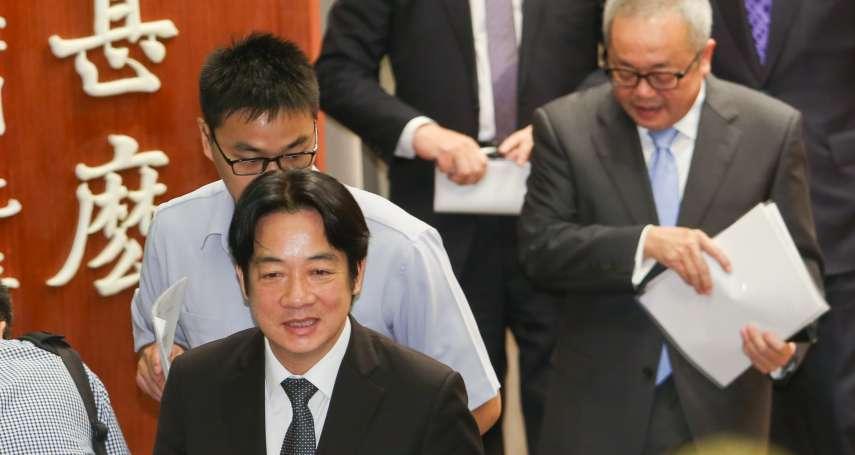 風評:內閣改組大風吹,吹出蔡政府的真實危機