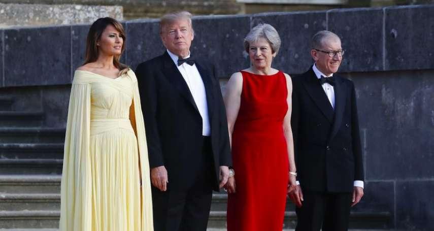 侵門踏戶!美國總統教訓英國首相 川普:梅伊不聽我的脫歐建議,英美貿易協議恐生變!