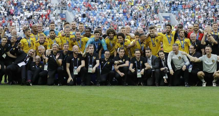 世足賽果》季軍戰:比利時2比0擊潰英格蘭,奪季軍改寫隊史最佳戰績