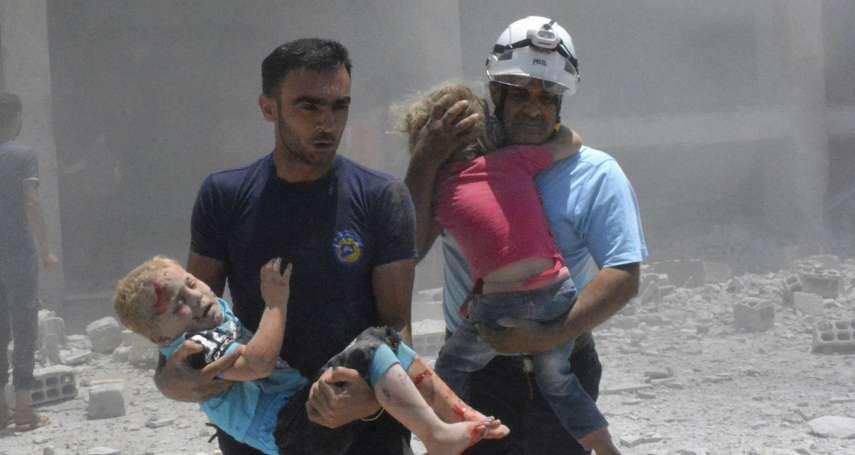 救援全世界最危險的救援工作者》敘利亞政府軍步步進逼 以色列協助「白盔隊」逃離戰火