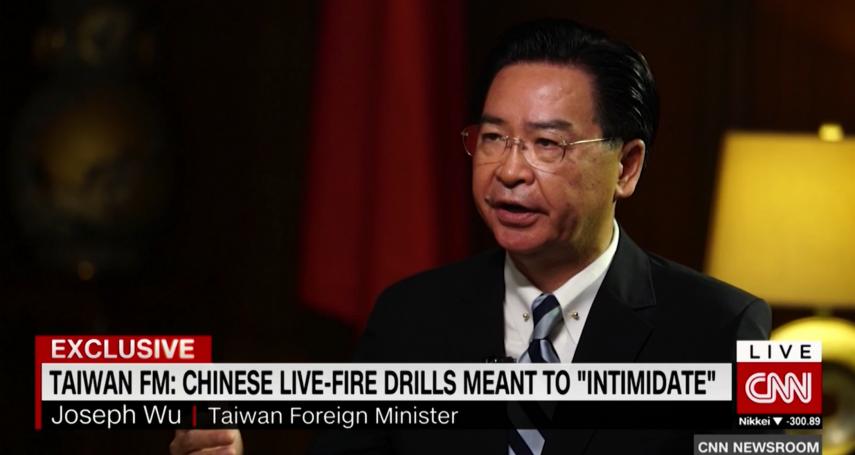 吳釗燮稱「台灣需要美國軍援」美國務院回應:鼓勵台灣增加國防預算
