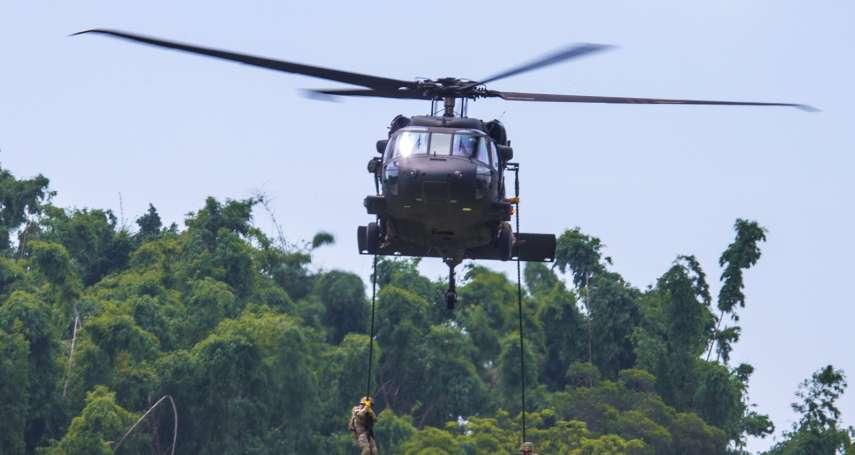 新年重大意外!黑鷹直升機迫降烏來山區 參謀總長等國軍高層在機上