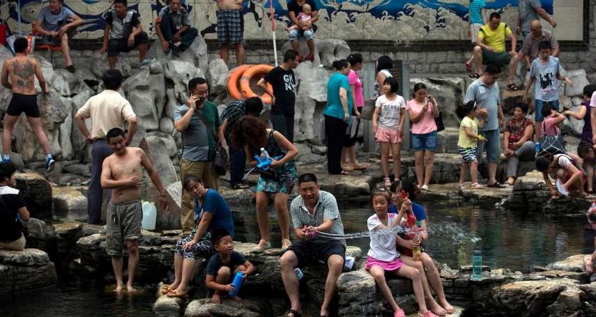 戶外待6小時就沒命!麻省理工警告:中國溫室氣體再不減量,華北熱浪將威脅4億人口性命