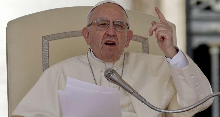 「同性戀者不應擔任神職人員!」教宗方濟各在新書表示:同性戀成時代潮流,教會的同志情況讓我憂慮!