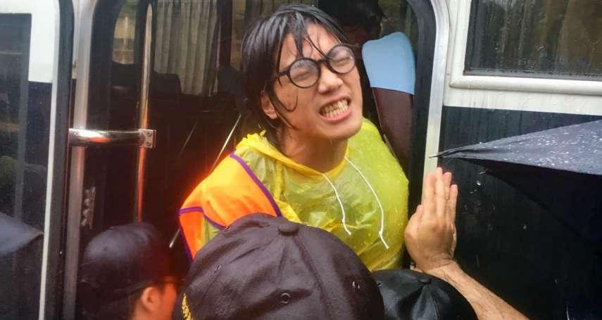大雨中向總統陳情,遭驅離拘禁逾1小時!大觀迫遷戶孩子哭喊「警察綁架我們」