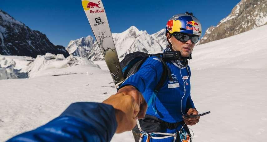 從8611公尺高峰滑雪下山的極限運動第一人:征服K2高峰的波蘭冒險家安傑巴吉爾