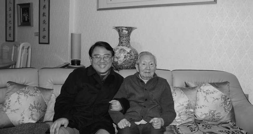 《中國思想史》作者、國學大師韋政通逝世 享壽91歲