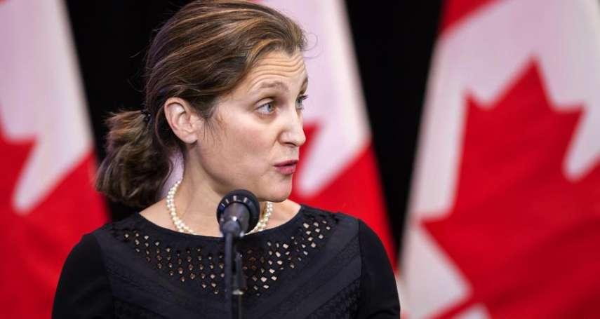 台加投保協議有譜?加拿大外長釋善意 明日台加諮商會議將討論