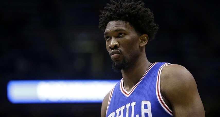 NBA》新秀史密斯腳部骨折進傷兵 安比德:76人真有新秀詛咒