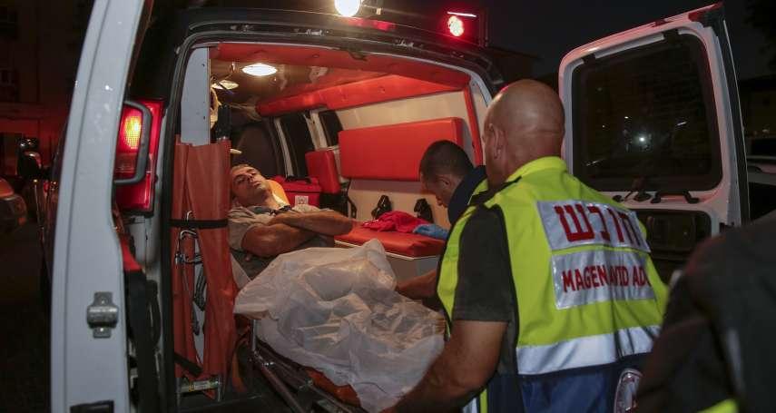 以巴危機升高》回敬哈瑪斯的150枚火箭砲 以色列轟炸加薩走廊釀3屍4命