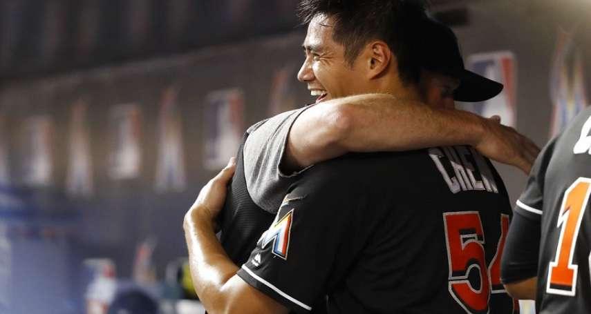 MLB》鈴木一朗點名 陳偉殷:與神同隊就像作夢