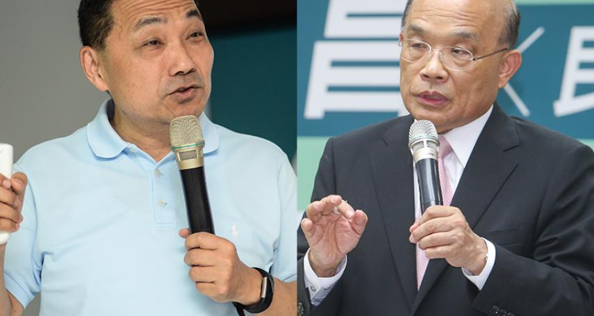 TVBS民調》侯友宜支持度50%,蘇貞昌30%,新北市長選舉差距拉大